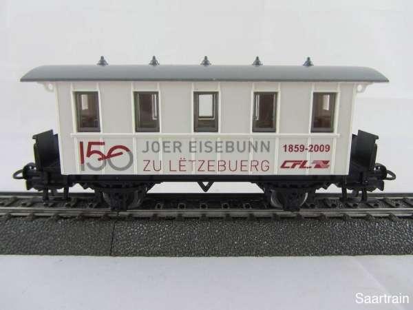 Basis 4107 Personenwagen 150 Joer Eisebunn CFL Sondermodell Neu mit OVP