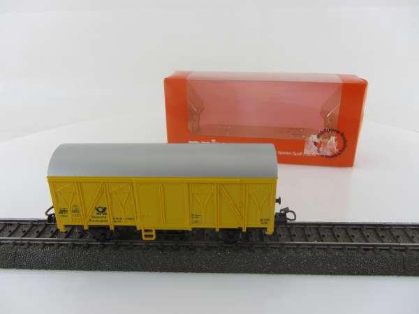 Primex 4558 Postwagen gelb mit Originalkarton, sehr guter Zustand