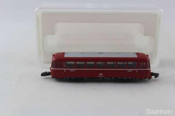 Märklin 8817 Schienenbus Beiwagen der DB rot ohne Antrieb sehr guter Zustand
