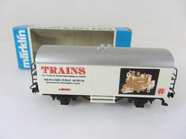 Märklin Basis 4415 Werbewagen Trains Museum USA Sondermodell mit OVP