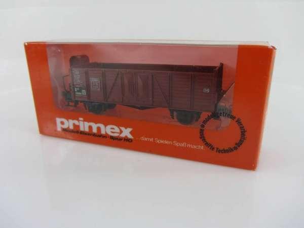 Primex 4547 Güterwagen braun mit Originalkarton (ungeöffnet)