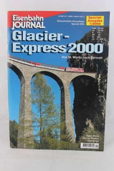 """Eisenbahnjournal """"Sonderausgabe-Glacier Express 2000"""" 1/2000"""