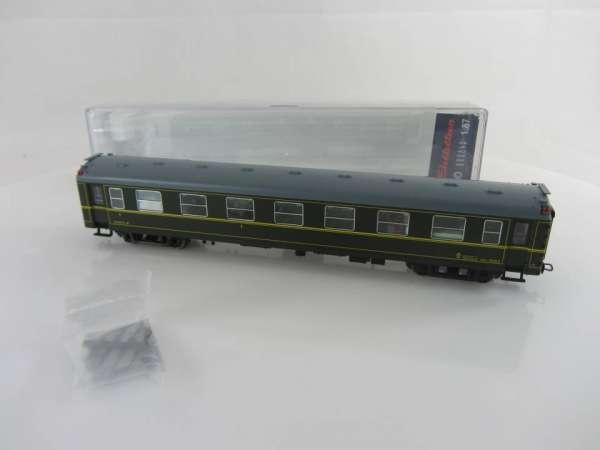 Electrotren 5062K Spanischer Personenwagen 1.Klasse, in grün, mit OVP