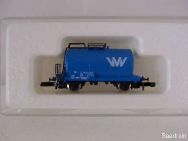 Märklin 8612 Kesselwagen 2 achsig VVV Service blau Neu mit Originalverpackung