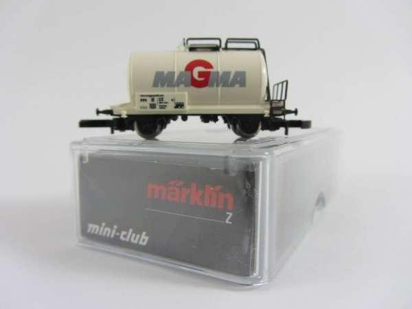 Märklin 8612 Kesselwagen Werbewagen MAGMA von der Sonne verblasst mit Box