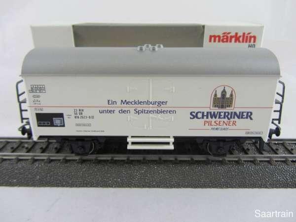 Märklin 4418 Bierwagen Schweriner Pilsener Neuwertig und mit Originalverpackung