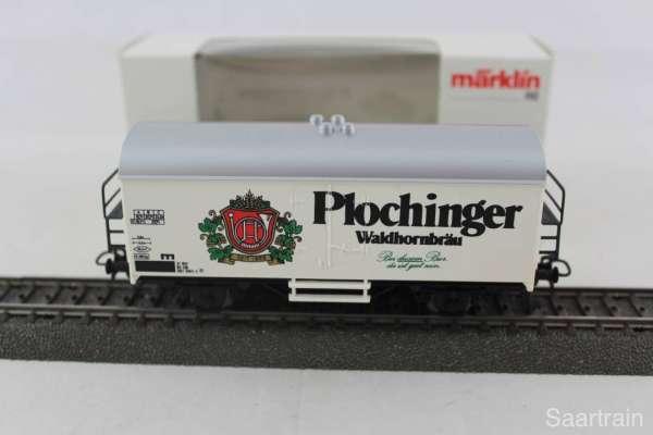 Märklin Basis 4415 Bierwagen Plochinger Waldhornbräu Sondermodell, neu und mit OVP