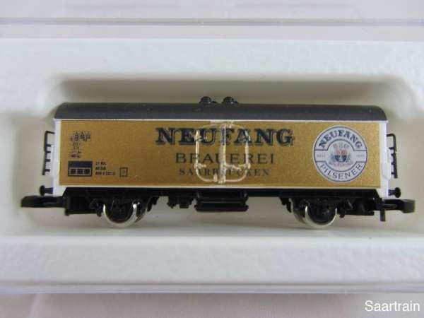 8600 Bierwagen Sondermodell Neufang Brauerei Saarbrücken golden mit Verpackung