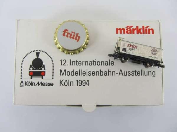 Märklin Sondermodell Messewagen G10 Basis 8661 Früh Kölsch 1994 mit OVP
