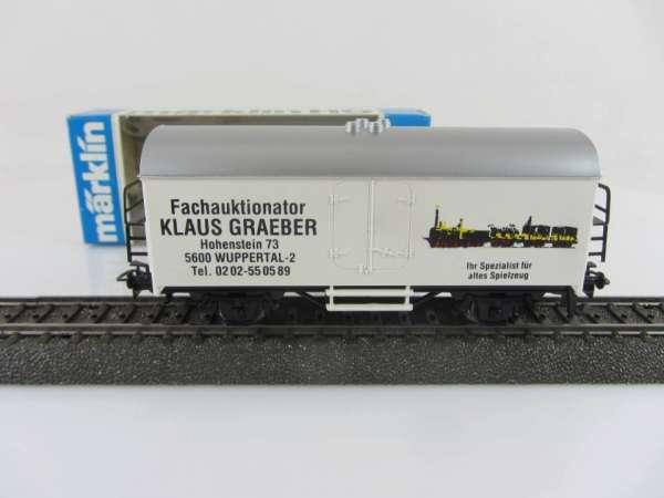 Basis 4415 Werbewagen Gräber Wuppertal mit Verpackung