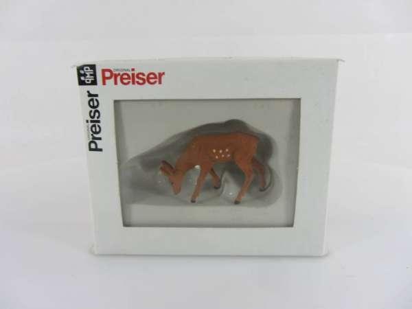 Preiser G 47703 1:25 Hirschkalb neu mit OVP
