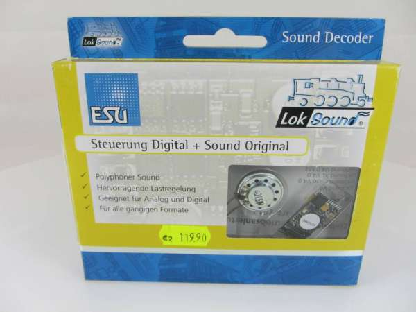 ESU 56498 Soundmodul (Decoder mit Lautsprecher) neu und originalverpackt
