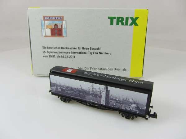 Trix 15684 Schiebewandwagen 825 Jahre Hamburger Hafen, Messe 2014,Neu,OVP,M1:160