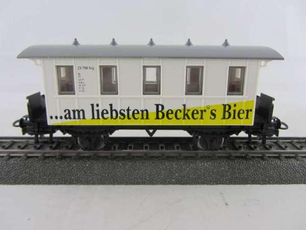 Basis 4107 Personenwagen Becker's Bier Sondermodell, neuwertig mit Verpackung