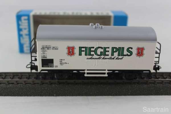 Märklin Basis 4415 Bierwagen Fiege Pils Sondermodell, neu und mit OVP