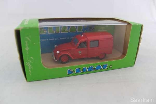 1:43 Eligor 1324 Citroen 3 CV Pompier de Paris 1964 Feuerwehr