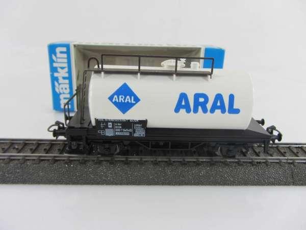 Märklin 4440 Kesselwagen Aral der DB weiss, neuwertig mit OVP