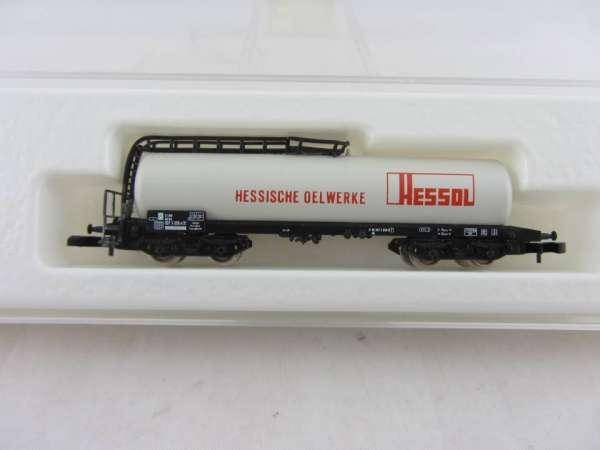 8626 Kesselwagen 4-achsig Sondermodell Hessol weiss mit OVP