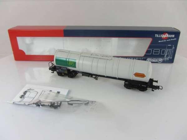 """Tillig 79601 Kesselwagen """"BP"""" der ÖBB (3-Leiter Wechselstrom), neuwertig mit Verpackung"""
