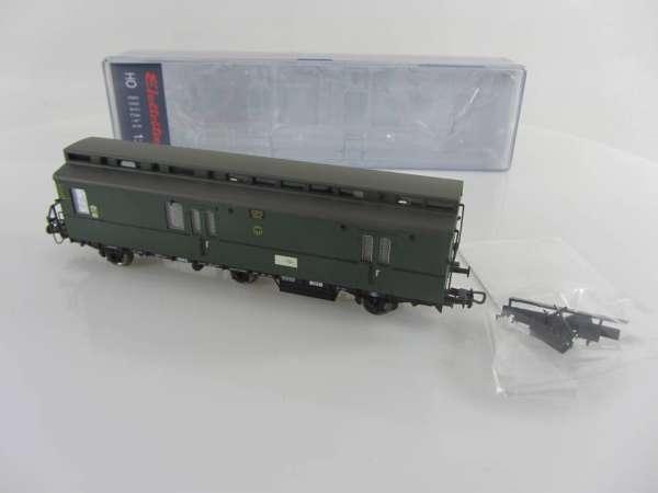 Electrotren 6406 Postwagen der DR in grün, 3-achsig, neu und mit OVP