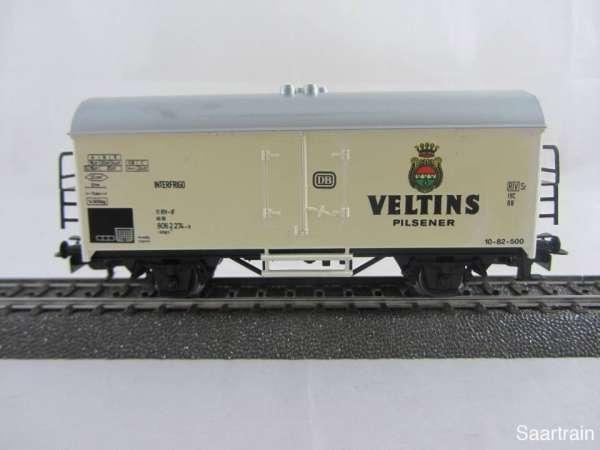Märklin Basis 4415 Bierwagen Veltins Pilsener SOMO gebraucht ohne Verpackung