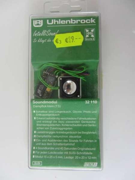Uhlenbrock 32110 Soundmodul (Decoder mit Lautsprecher) neu und originalverpackt