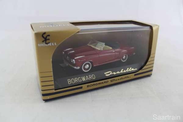 1:43 SE Modell 1003 Isabella Cabrio offen 1957 Corridarot