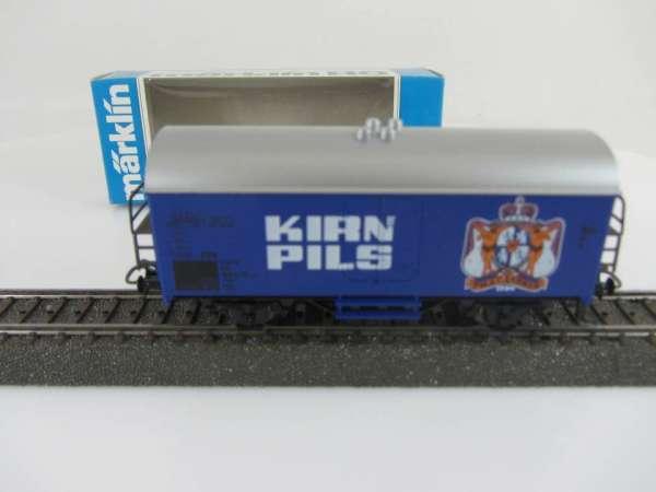 Märklin Basis 4415 Bierwagen Kirner Pils blau Sondermodell sehr selten ! m. OVP