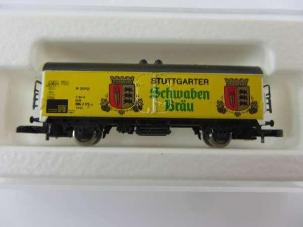 8600 Bierwagen Sondermodell Stuttgarter Schwaben Bräu gelb, mit OVP