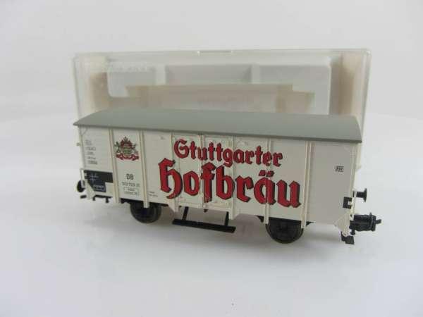 Fleischmann 84 5341 K Stuttgarter Hofbräu G10 Bierwagen guter Zustand mit OVP