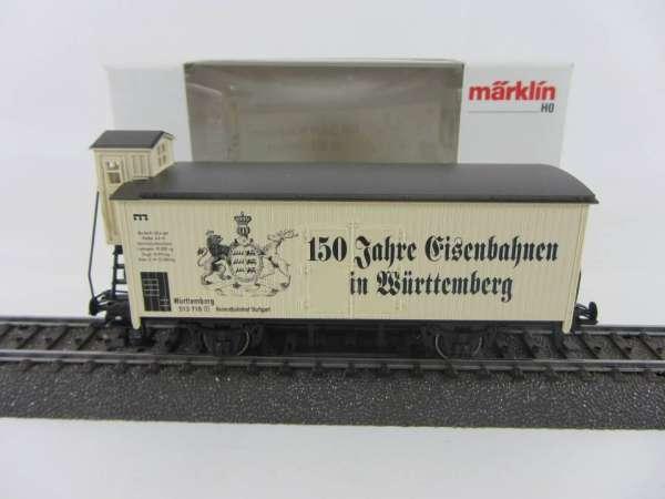 Märklin Basis 4680 150 Jahre Eisenbahn in Württemberg, 84682, Neu und mit OVP