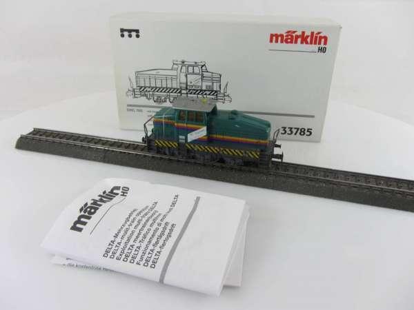 Märklin 33785 Diesellok DHG 500 Clariant Werkslok mit Blinklicht sehr gut mit OVP