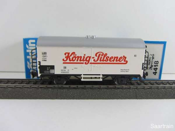 Märklin 4418 Bierwagen König Pilsener neuwertig und mit Originalverpackung
