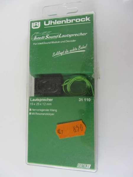 Uhlenbrock 31110 Lautsprecher neu und originalverpackt