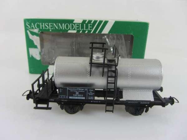 Sachsenmodelle 16037 Kesselwagen Metzger der DB, sehr guter Zustand mit OVP