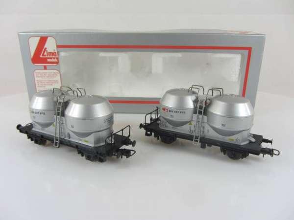 Lima 302802 Staubsilowagen-Set der SBB, neuwertig mit Verpackung