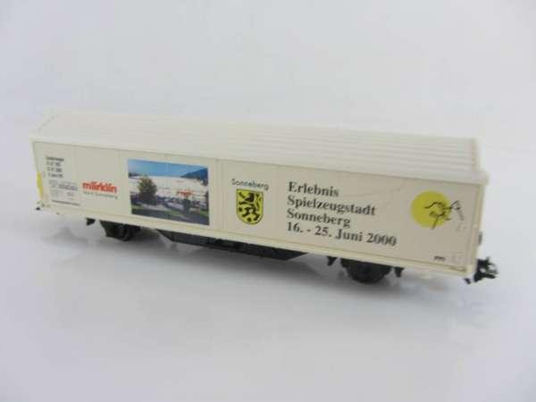 Märklin Basis 4735 Habis-Wagen Spielzeugstadt Sonneberg (II), ohne Verpackung