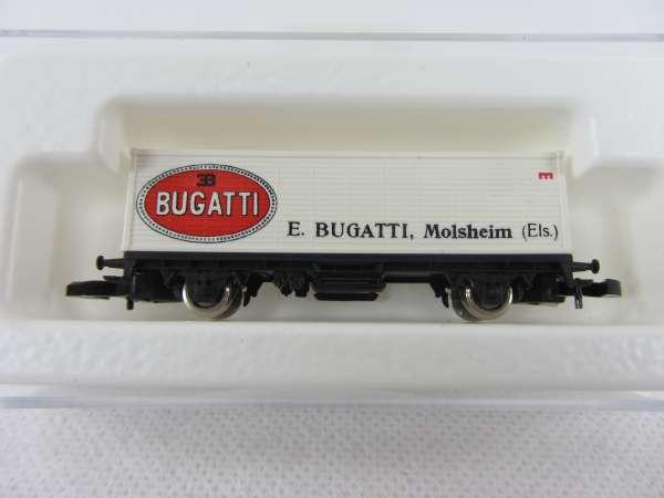 Märklin 8615 Containerwagen Sondermodell Bugatti (aus SET 8400 D) mit Box
