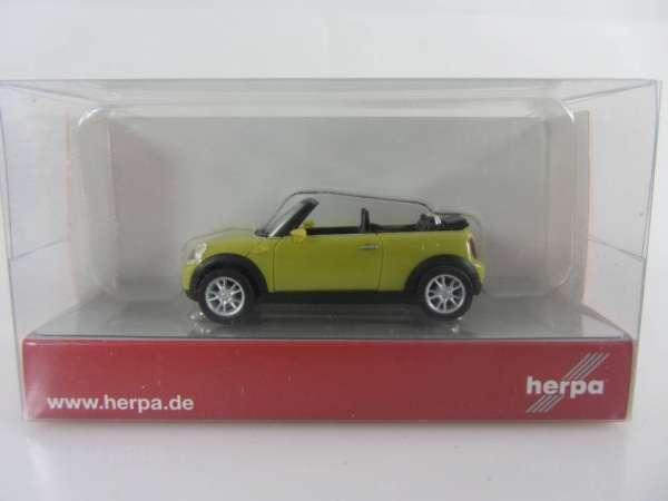 HERPA 24198 1:87 Mini Cabrio TM neu mit OVP