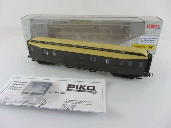 PIKO 5332 0/10 Postwagen Kaiserliche Post neuwertig mit Verpackung, AC-Achsen