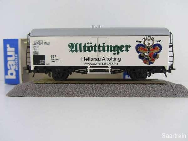 Baur Nr. 178 HO Bierwagen Altöttinger Hellbräu weiß Neu mit Originalverpackung