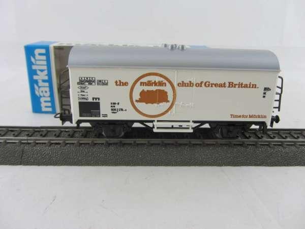 Märklin Basis 4415 Werbewagen Märklin Club Great Britain Sondermodell, neu und mit OVP