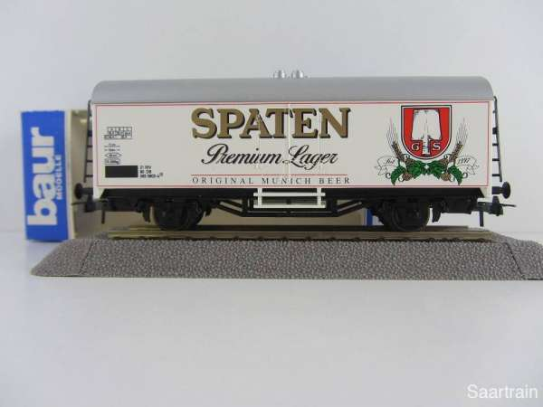 Baur Nr. 171 HO Bierwagen Spaten Premium Lager weiß Neu mit Originalverpackung