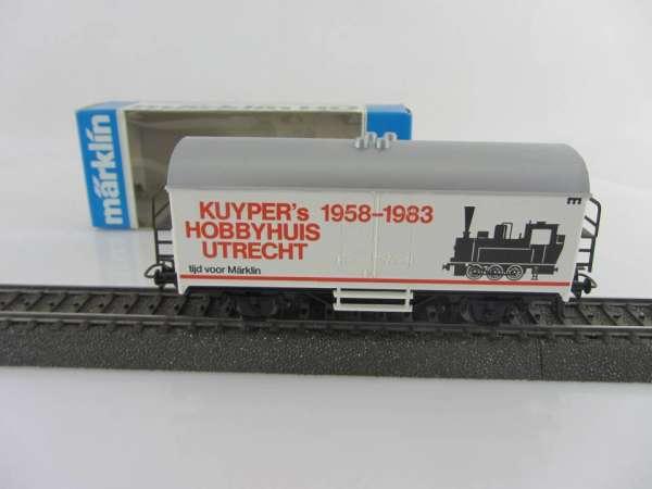 Märklin Basis 4415 Werbewagen Kuypers Hobbyhuis Holland Sondermodell, neu und mit OVP