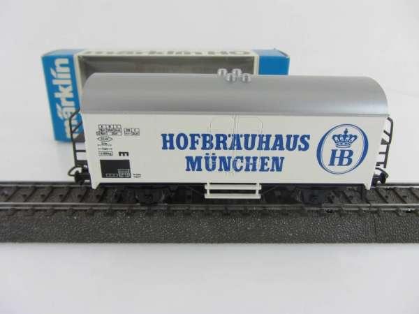 Märklin Basis 4415 Bierwagen Hofbräuhaus München neuwertig und mit OVP SOMO
