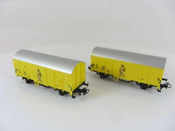 2 Stück Primex 4544 Bananenwagen gelb, gebraucht ohne Verpackung