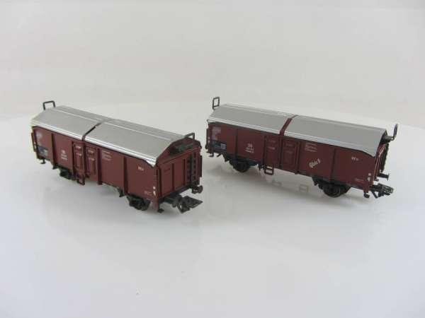 Märklin 4619 Schiebedachwagen (2 Stück) KKK gebraucht, ohne Verpackung