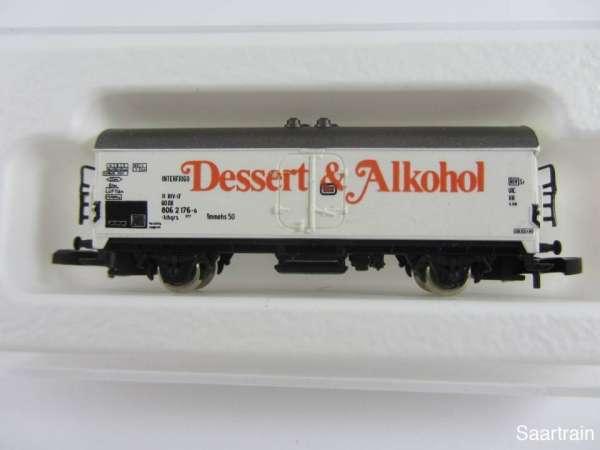 8600 Kühlwagen Dessert & Alkohol sehr alt mit Originalverpackung