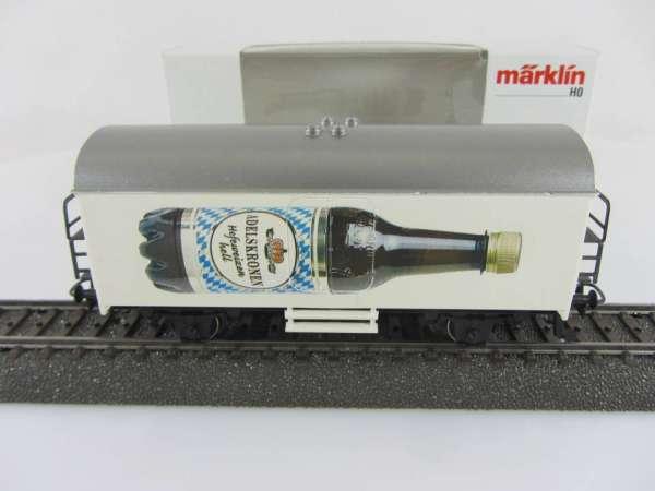 Märklin Basis 4415 Bierwagen Adelskrone Hefeweizen Sondermodell mit Verpackung
