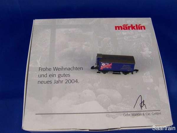 Märklin Sondermodell Jahreswechsel 2003/04 G10 (Basis 8661) mit Lebkuchen